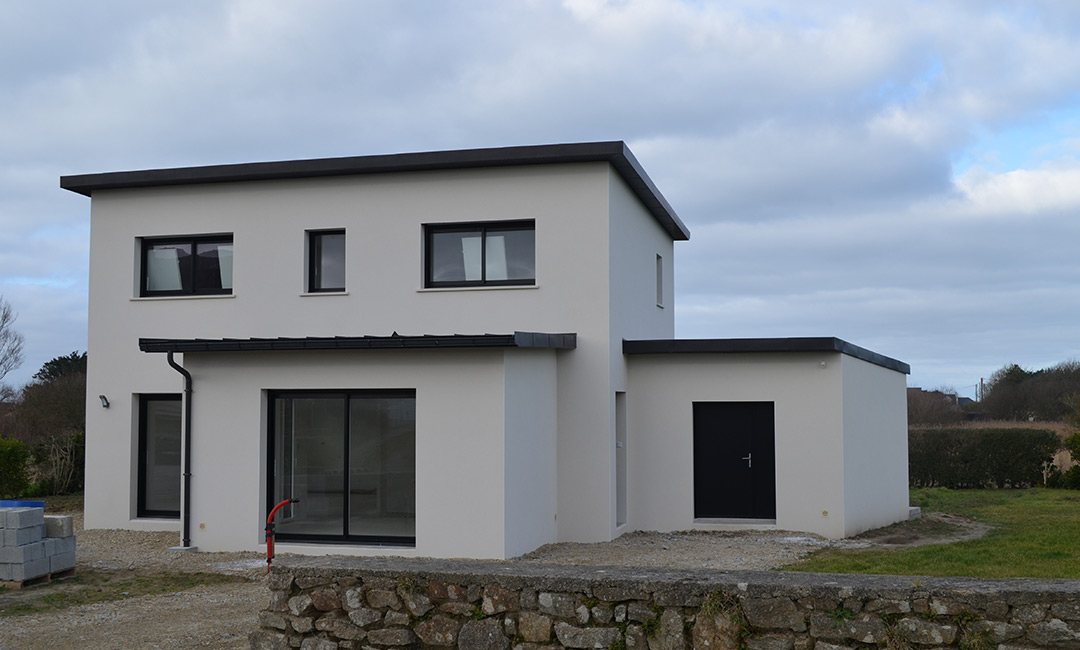 Extension maison cube maisons journay freres rnovation - Photo maison cube moderne ...