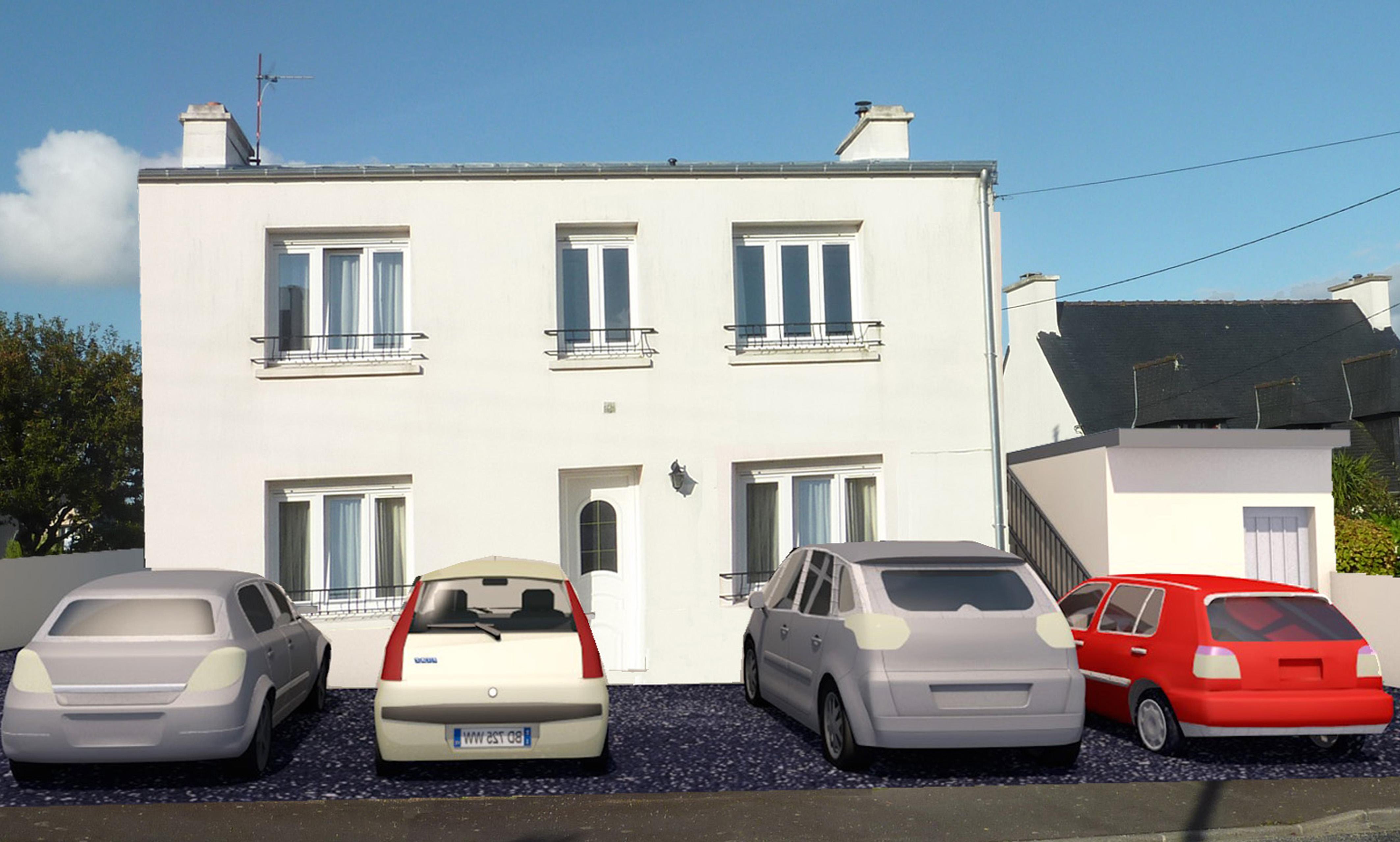 création de deux logements