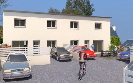 deux logements en duplex