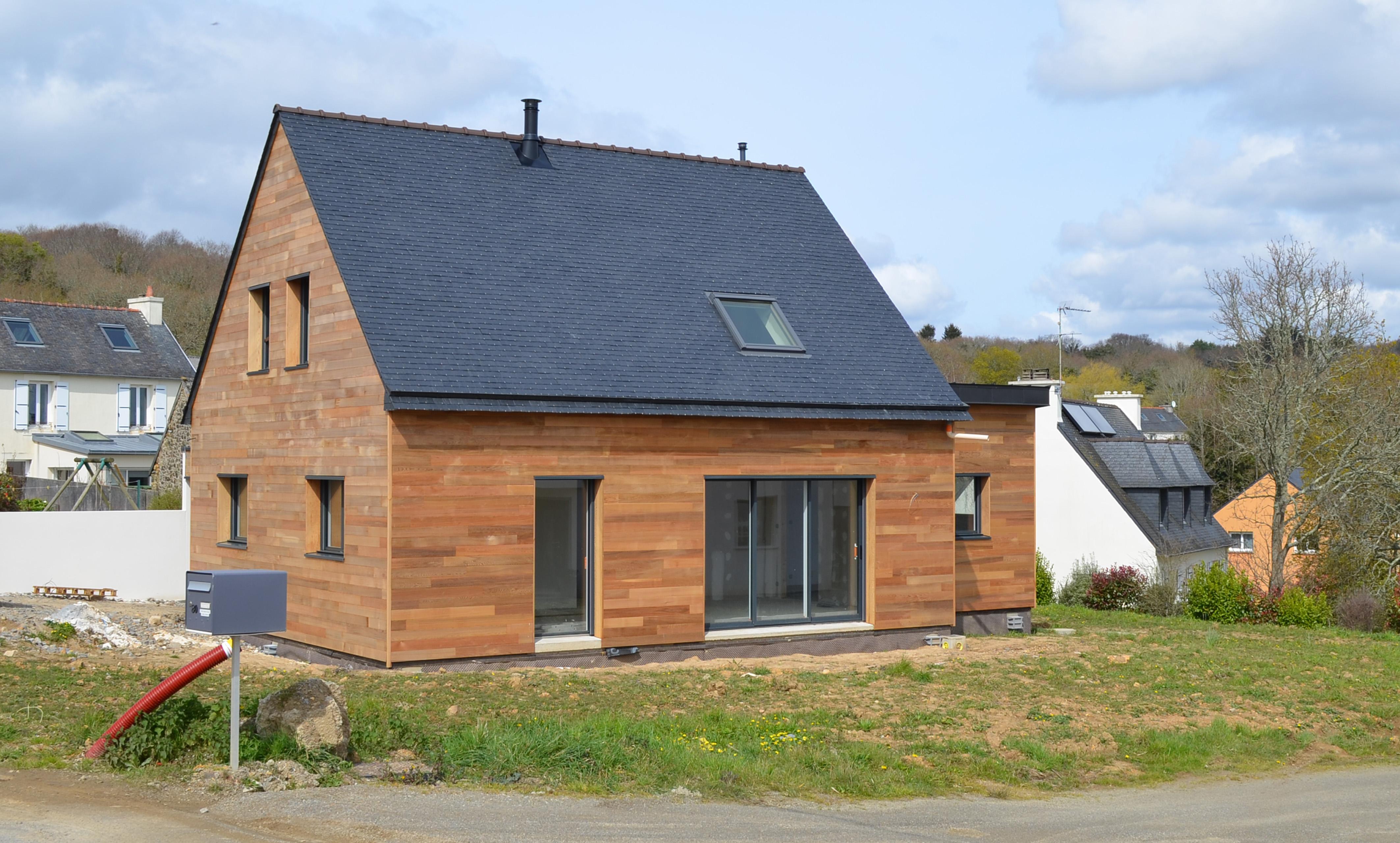 photo maison bois